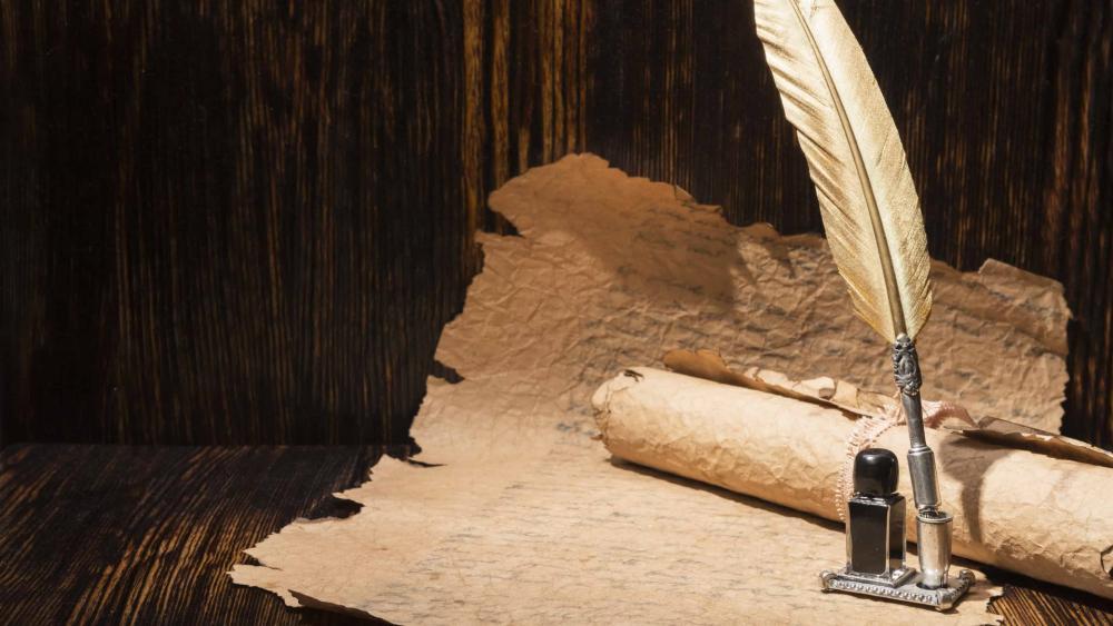 Ancient Writing Tools wallpaper