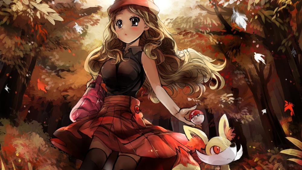 Anime Mythology Girl wallpaper