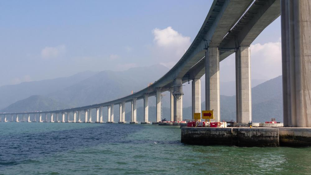 Hong Kong–Zhuhai–Macau Bridge wallpaper