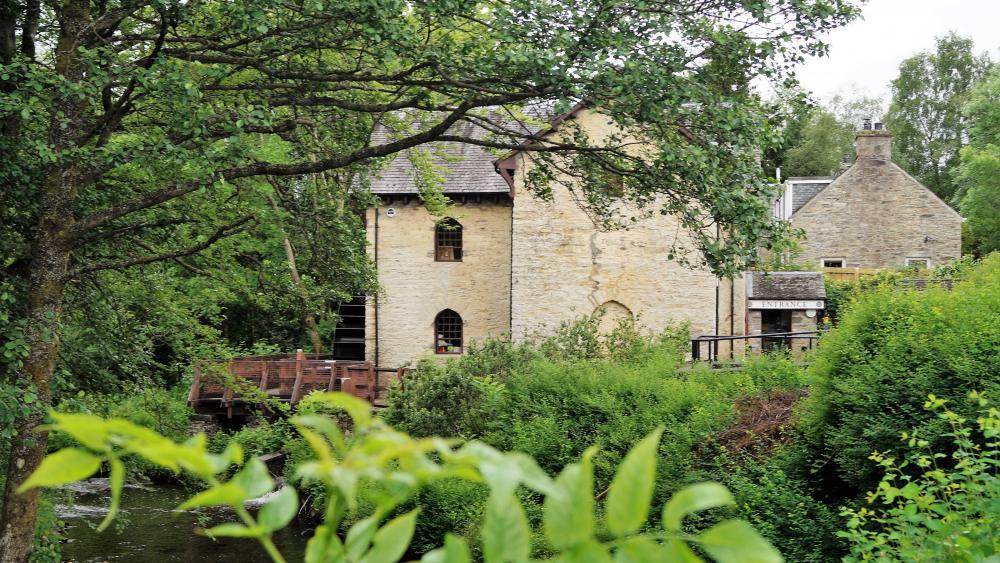 Wassermühle wallpaper