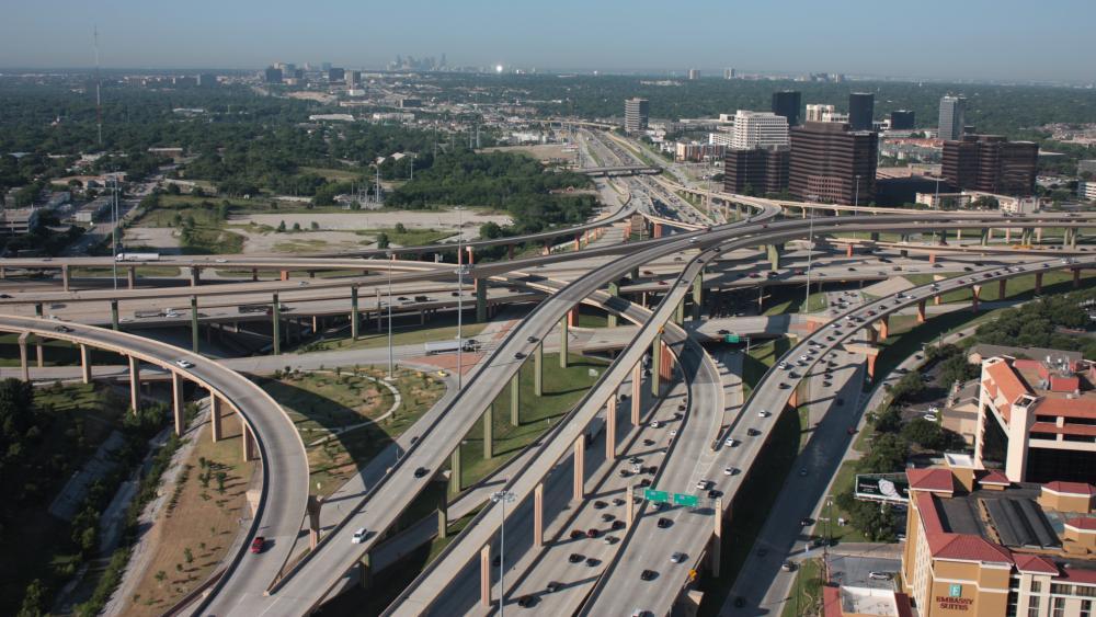 High Five Interchange in Dallas, TX wallpaper