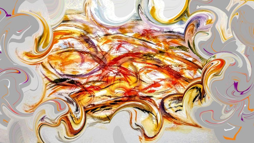 Mariage de couleurs ( ocres & rouges ) 2020 wallpaper