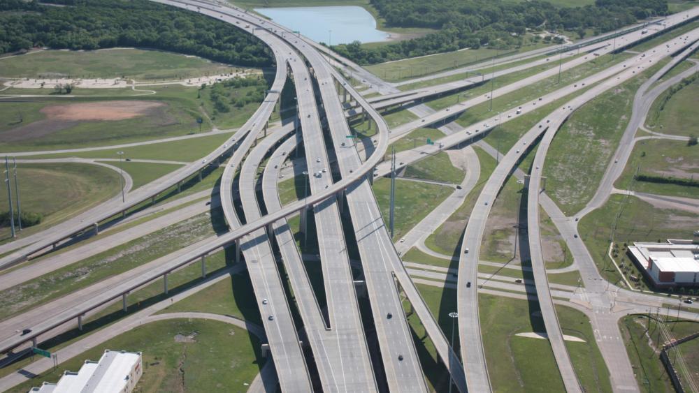Bush Turnpike & Interstate 635  wallpaper