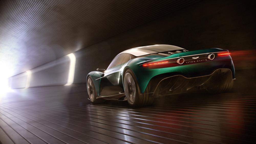 Aston Martin Valkyrie Concept Car wallpaper