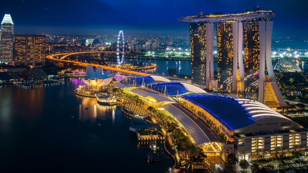 Marina Bay Sands Singapore wallpaper