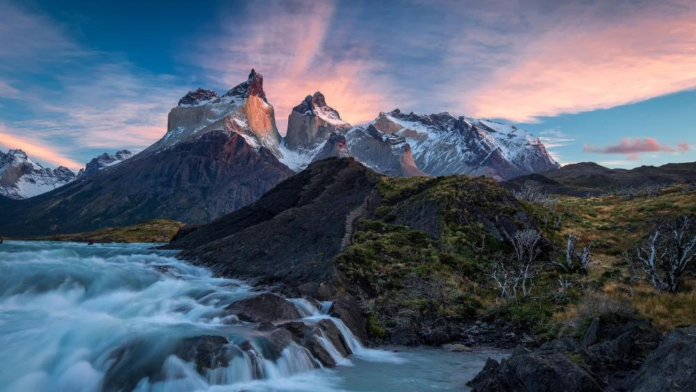 Cordillera del Paine wallpaper