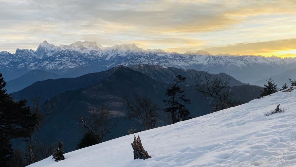 Nepali Himalaya wallpaper