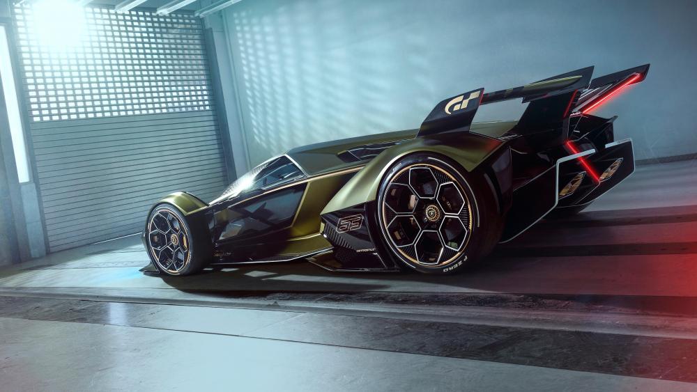 Lamborghini V12 Vision Gran Turismo wallpaper
