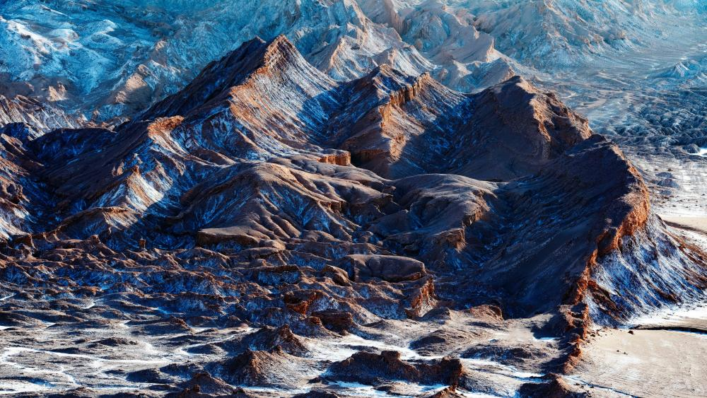 Atacama desert, Moon Valley wallpaper