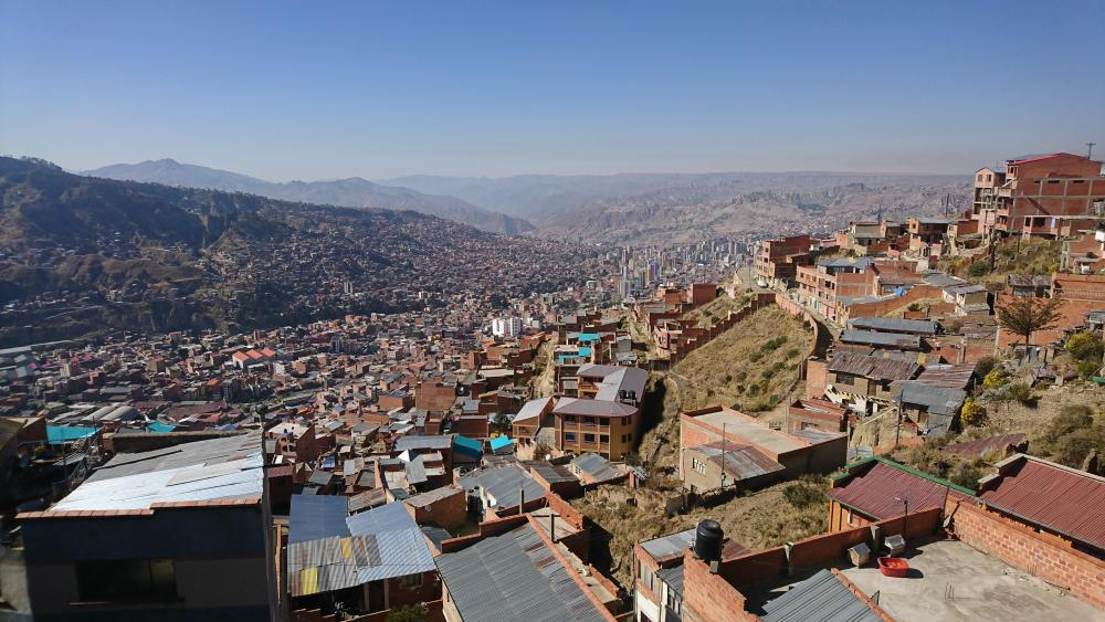 La Paz, Bolivia wallpaper