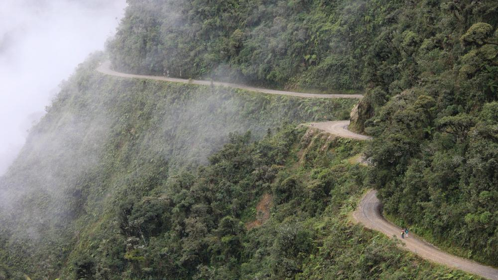 Yungas Road wallpaper