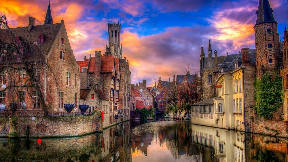 Fabolous Bruges wallpaper