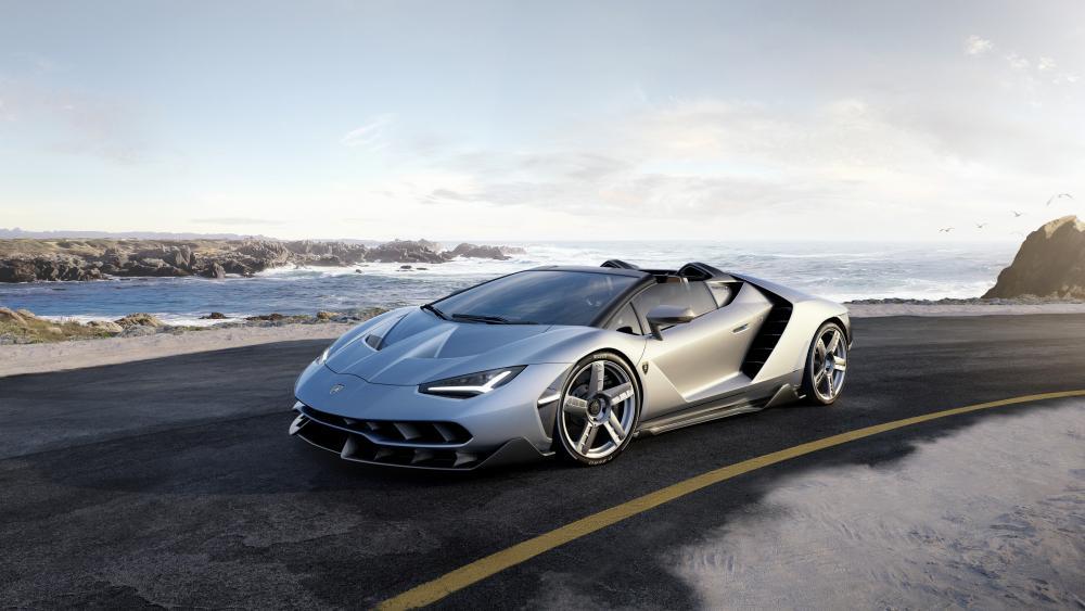 Lamborghini Centenario Roadster wallpaper