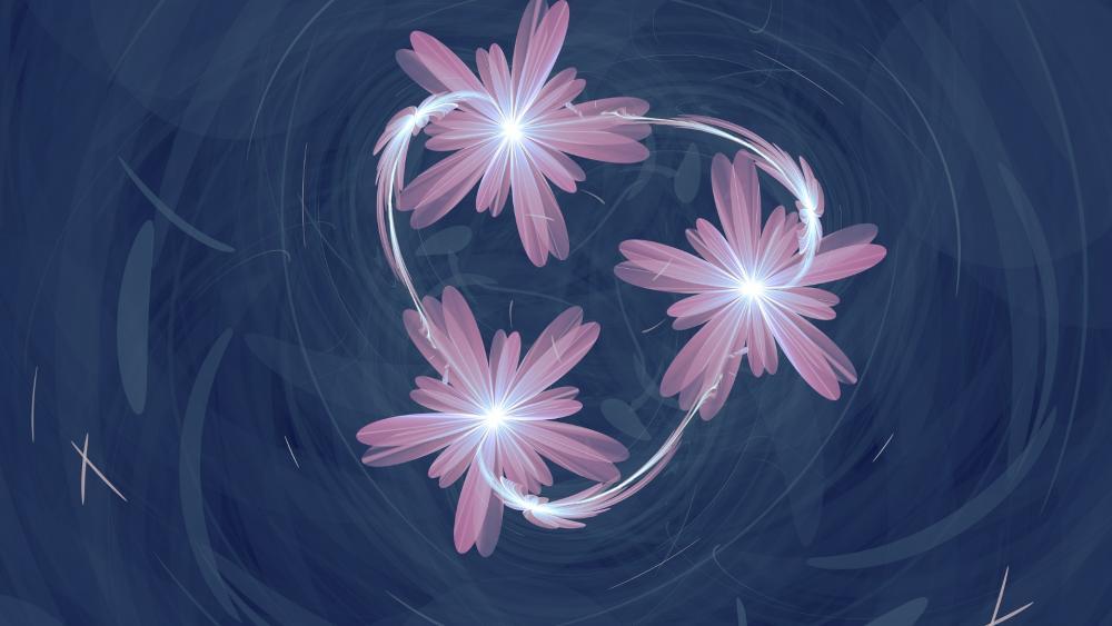 Flowerdance wallpaper