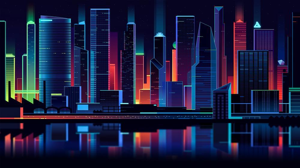 Affinity skyline wallpaper