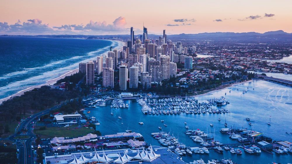 City Of Gold Coast Queensland Australia wallpaper