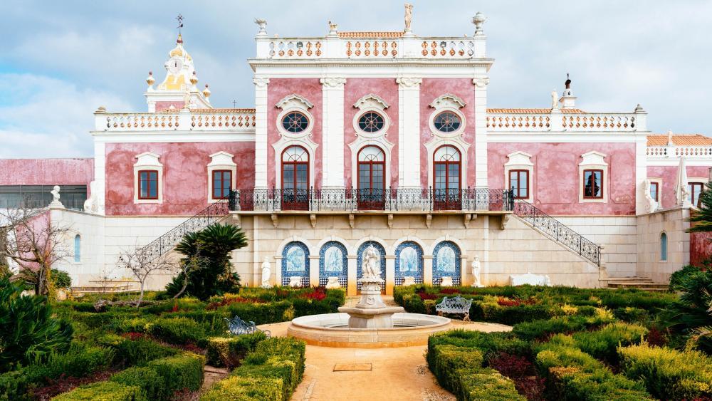 Palácio de Estoi (Faro, Portugal) wallpaper