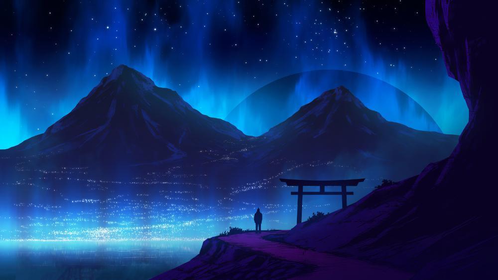 Blue Mountains wallpaper