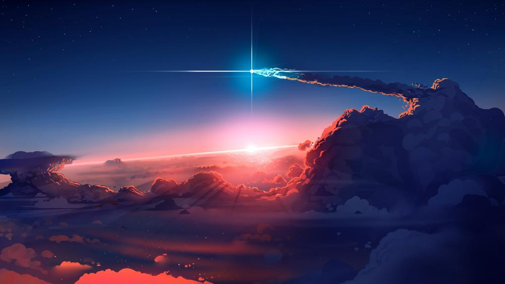 The Shooting Star wallpaper
