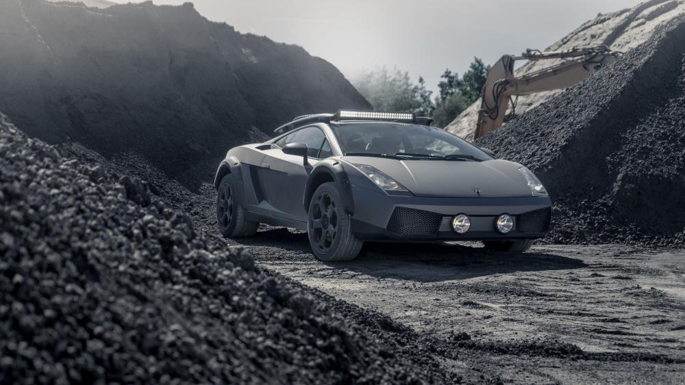 Off-Road-Ready Lamborghini Gallardo wallpaper