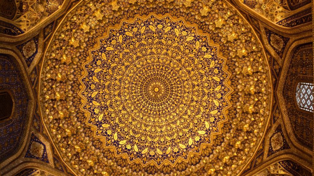 Samarkand - Tilla Kari Madrasa and Mosque wallpaper