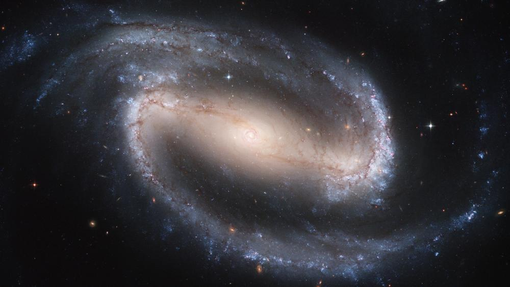 Barred Spiral Galaxy NGC 1300 wallpaper