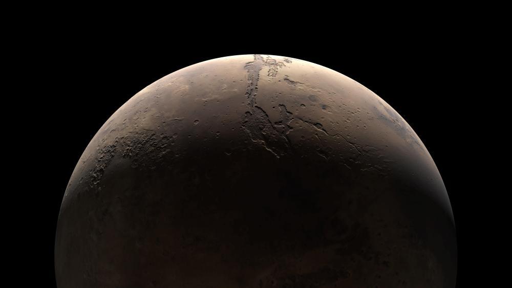 Martian Crescent wallpaper