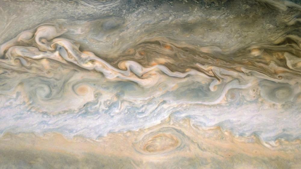 JunoCam Detail of Jupiter wallpaper