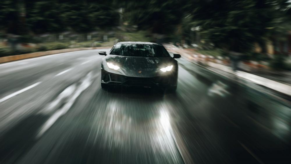 Lamborghini Huracan Evo wallpaper