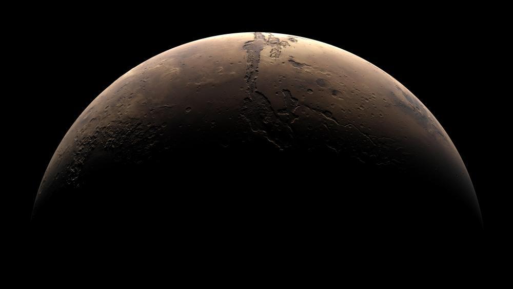 Crescent Mars wallpaper