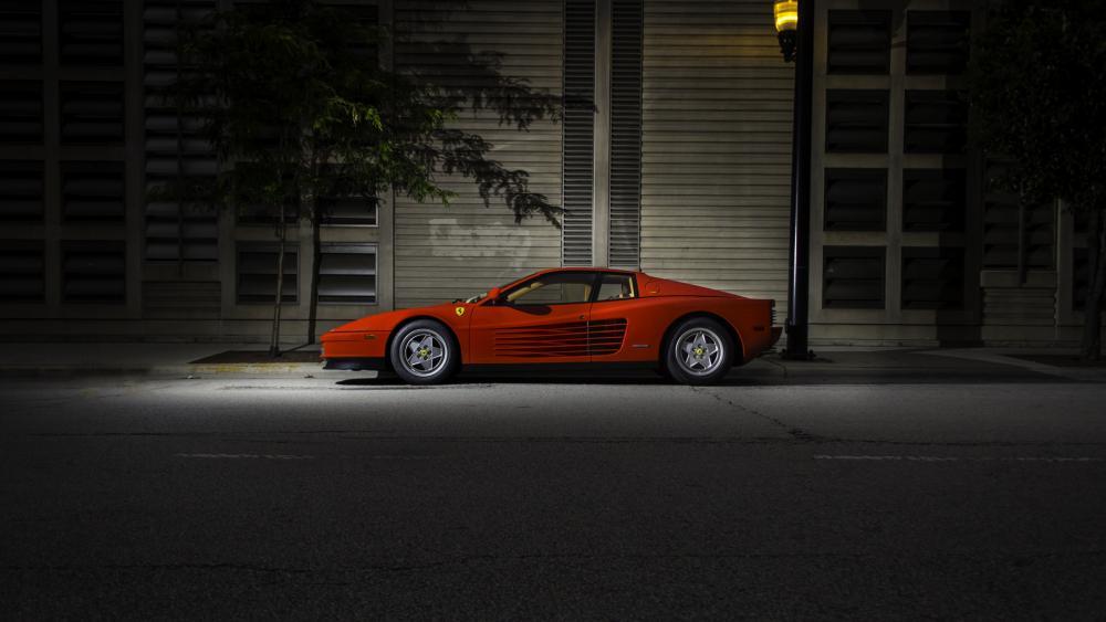 Ferrari Testarossa wallpaper