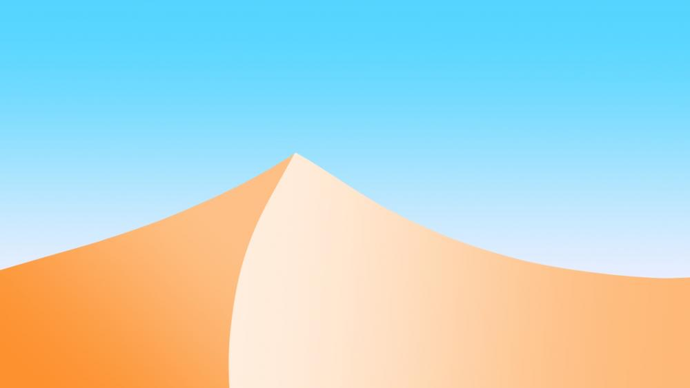 afternoon In the desert wallpaper