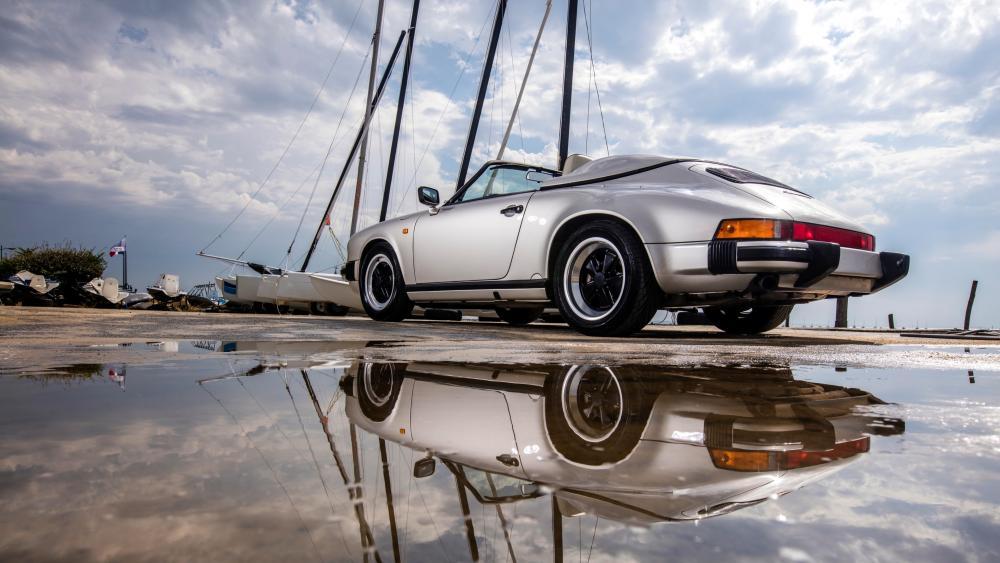 Porsche 911 Carrera Reflection wallpaper