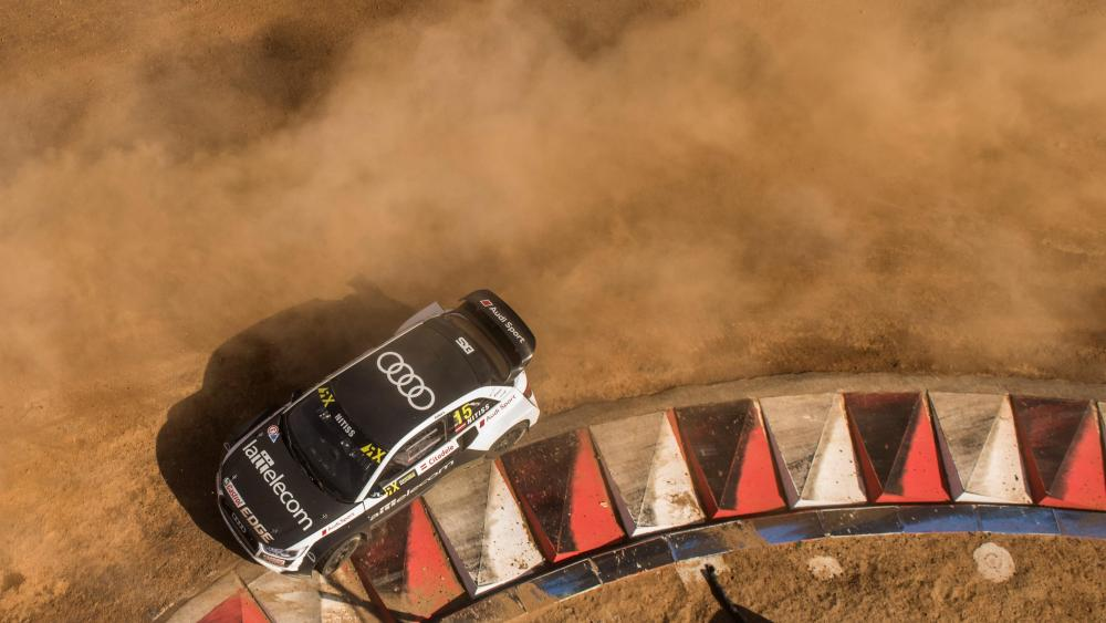 Reinis Nitišs at the 2017 World RX of South Africa wallpaper