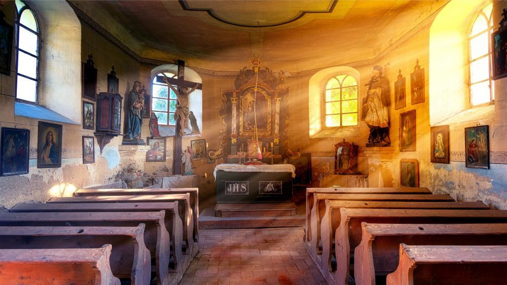 Ancient Church wallpaper