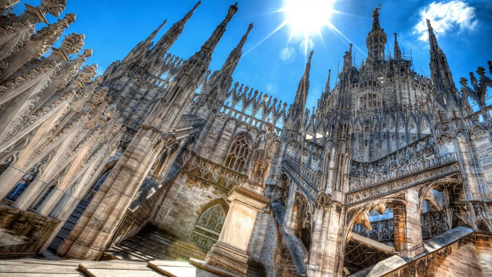 Milan Cathedral wallpaper