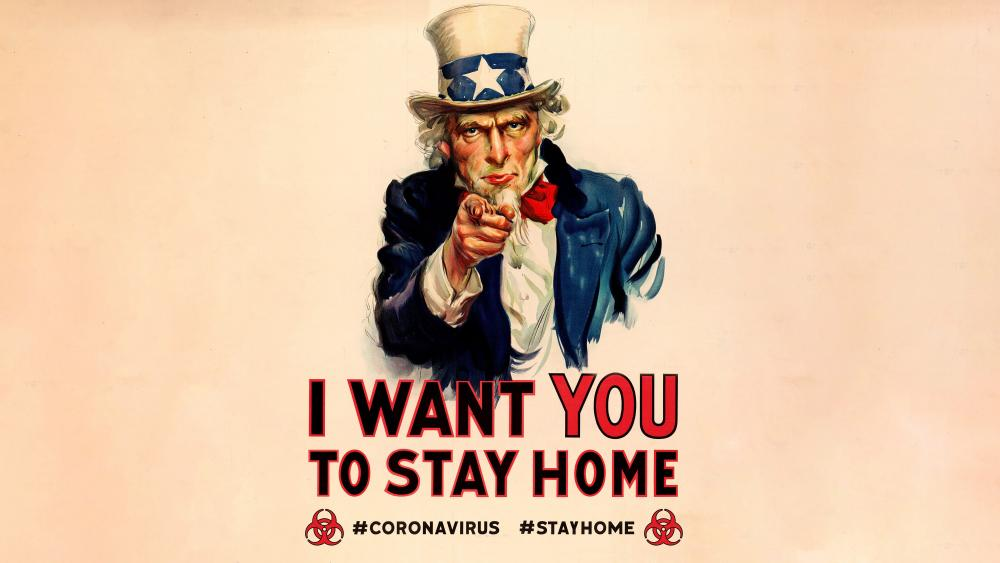 Stay At Home wallpaper