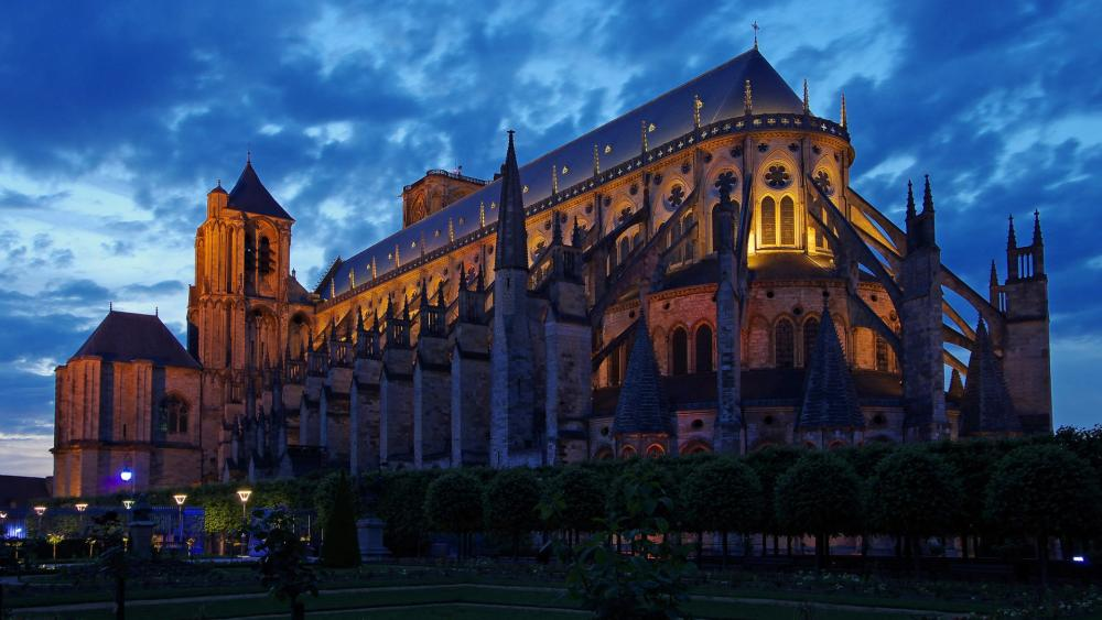 Bourges Cathedral wallpaper