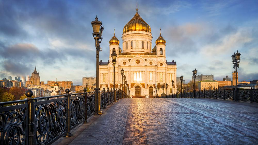 Cathedral of Christ the Saviour wallpaper