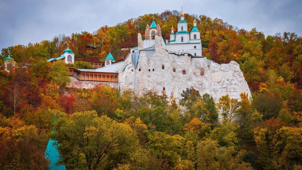 Sviatohirsk Cave Monastery wallpaper
