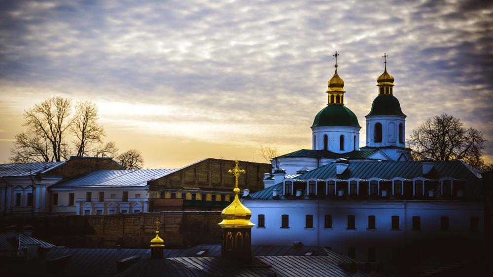 Kiev Monastery of the Caves wallpaper