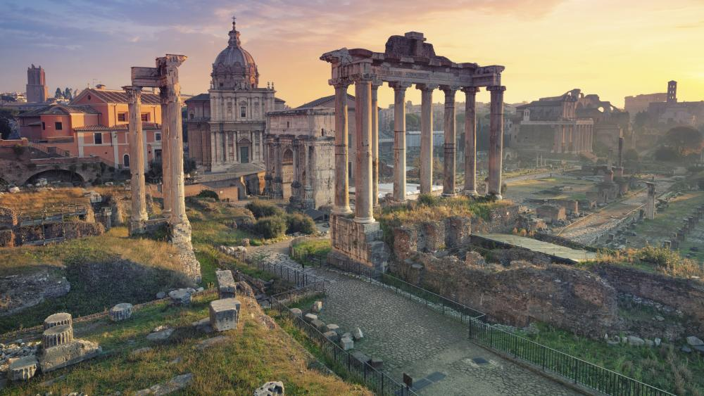 Forum Romanum wallpaper