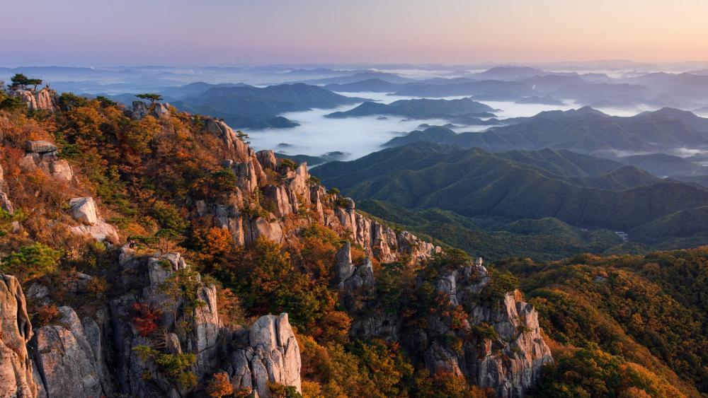 South Korea landscape wallpaper