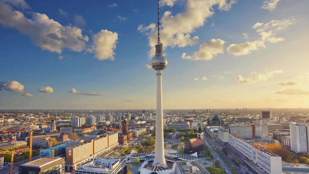 Berliner Fernsehturm wallpaper