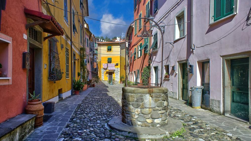Vezzano Ligure, Cinque Terre wallpaper