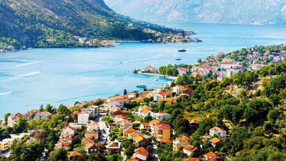 Bay of Kotor wallpaper