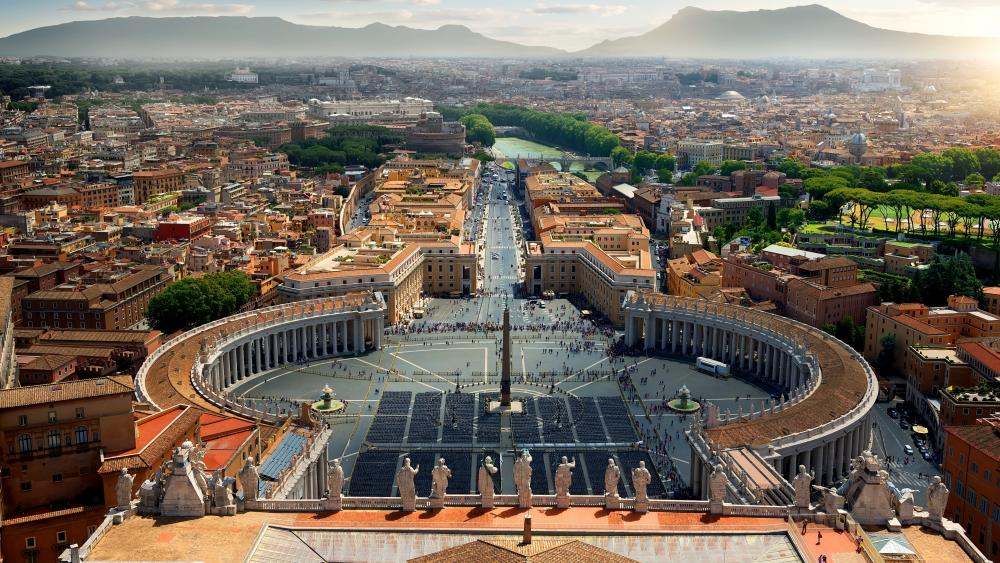 St. Peter's Square wallpaper