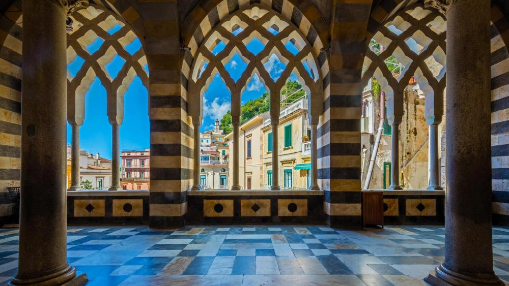 Amalfi Cathedral wallpaper