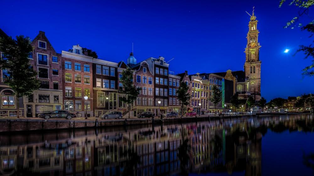 Westerkerk, Amsterdam wallpaper