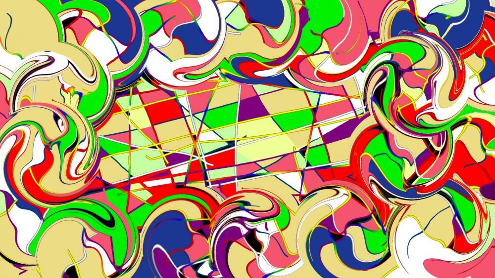 Image compositions couleurs 2020. wallpaper